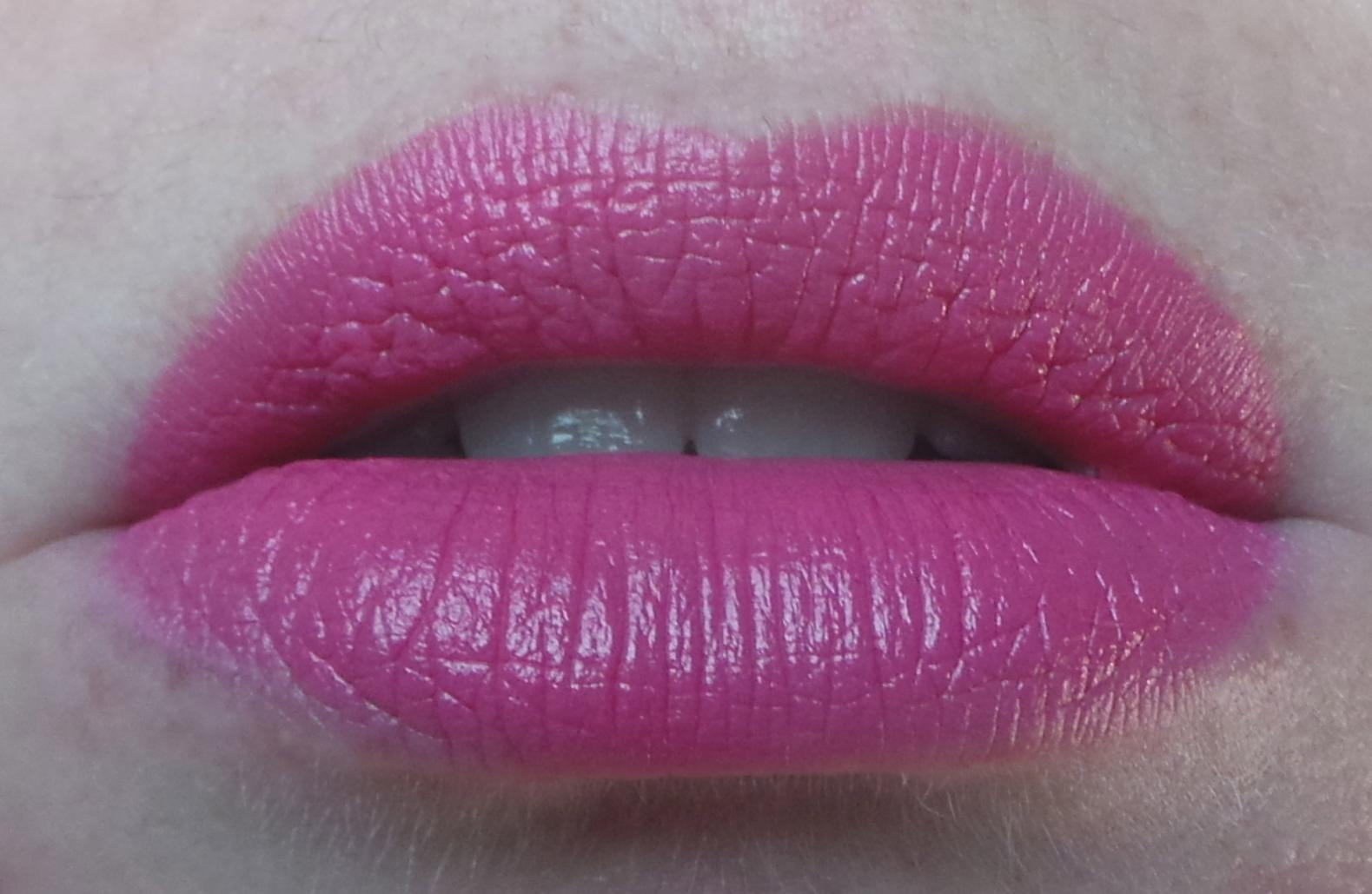 Lorac Lip Luxe in Hot Pink