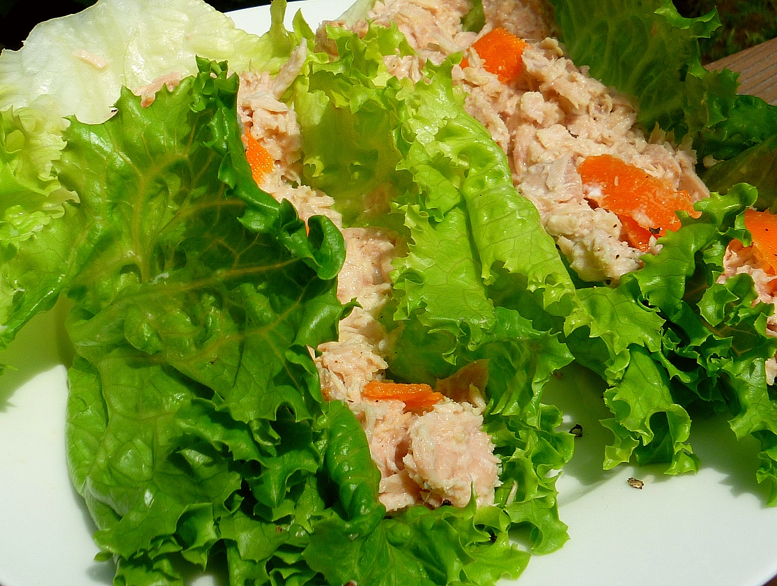 ... Number 7: Health | Quick, Easy, And Healthy Tuna Salad Wrap Recipe