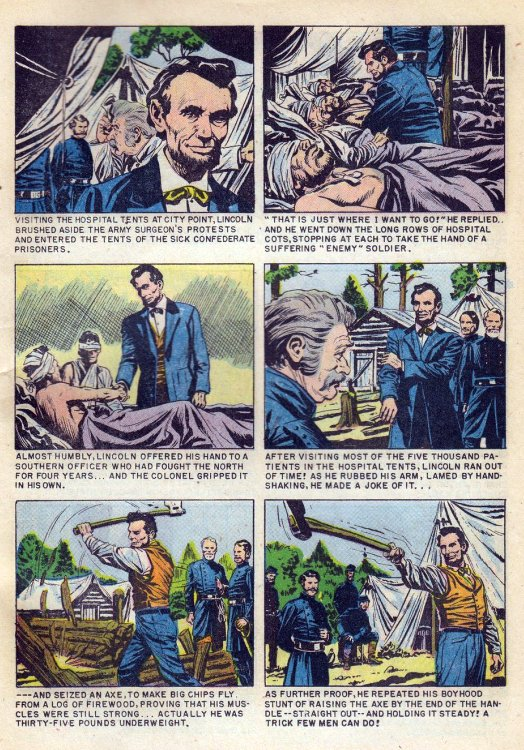 Atomic kommie comics reading room abraham lincoln life story part 6 helluva guy that lincoln fandeluxe Image collections