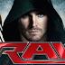 """Ator da série """"Arrow"""" presente em alguma edição do RAW?"""