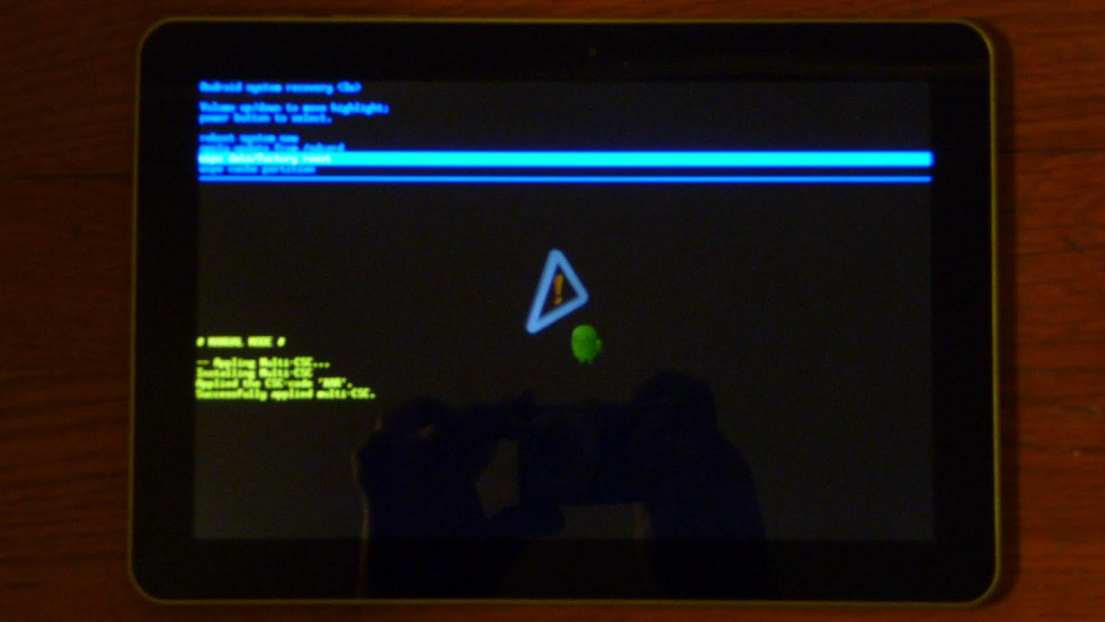 Как сделать сброс данных (hard reset, factory reset) на Samsung 11