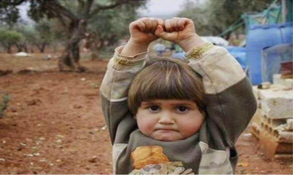 Jangan Tembak Saya Rayu Budak Kecil Syria