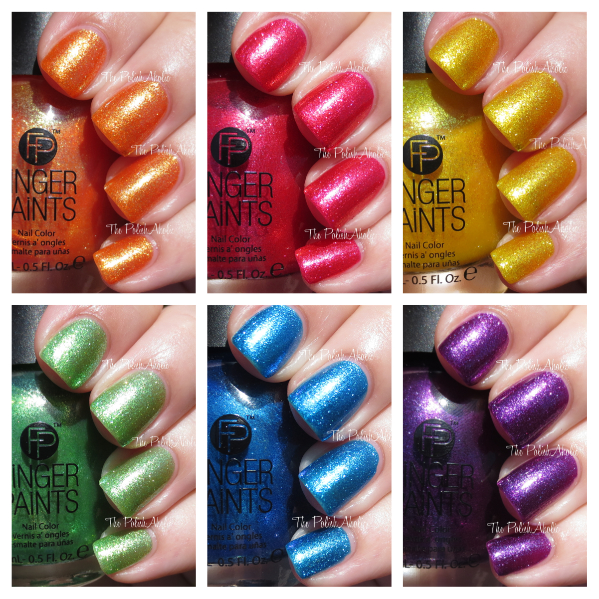 The PolishAholic: FingerPaints Poolside Paradise Collection Swatches ...