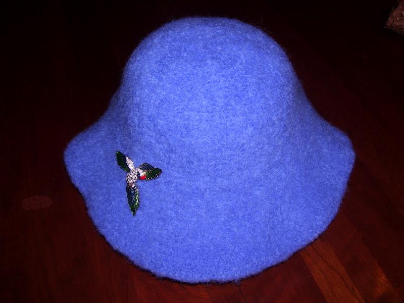 Magnífico Felted Knit Hat Pattern Colección de Imágenes - Manta de ...