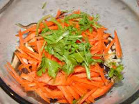 Northern Chinese traditional salad