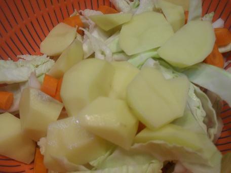Pecaras de gula repollo con patatas - Repollo en olla express ...