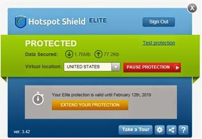 Hotspot Shield 3.42