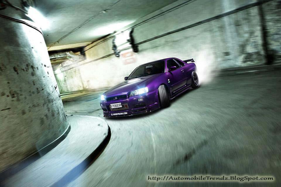 Automobile Trendz Nissan Gtr R34 Drift