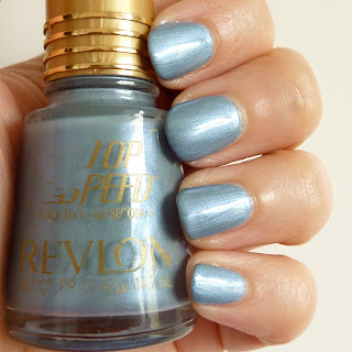 Relvon Top Speed Nail Polish Swatch of Smoke