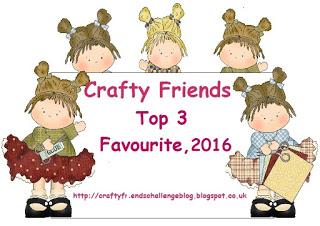 17-12 2016 in top 3 #46 CraftyFriendsBlog