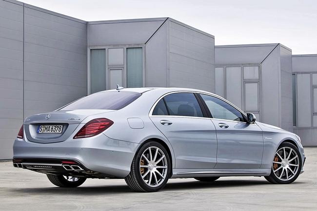 Mercedes-Benz S63 AMG Sound