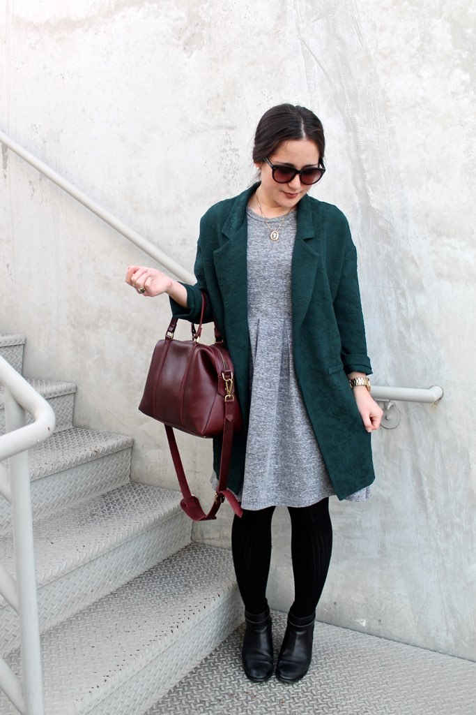 how to style an oversized jacket