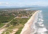 Itapoá (vista parcial aérea)