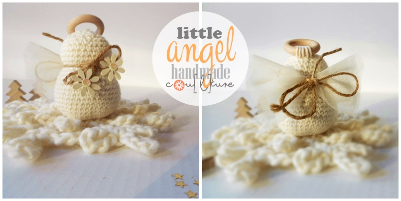 Amigurumi Tutorial Natale : Handmade Cou[l]ture: Tutorial per fare un angelo amigurumi ...
