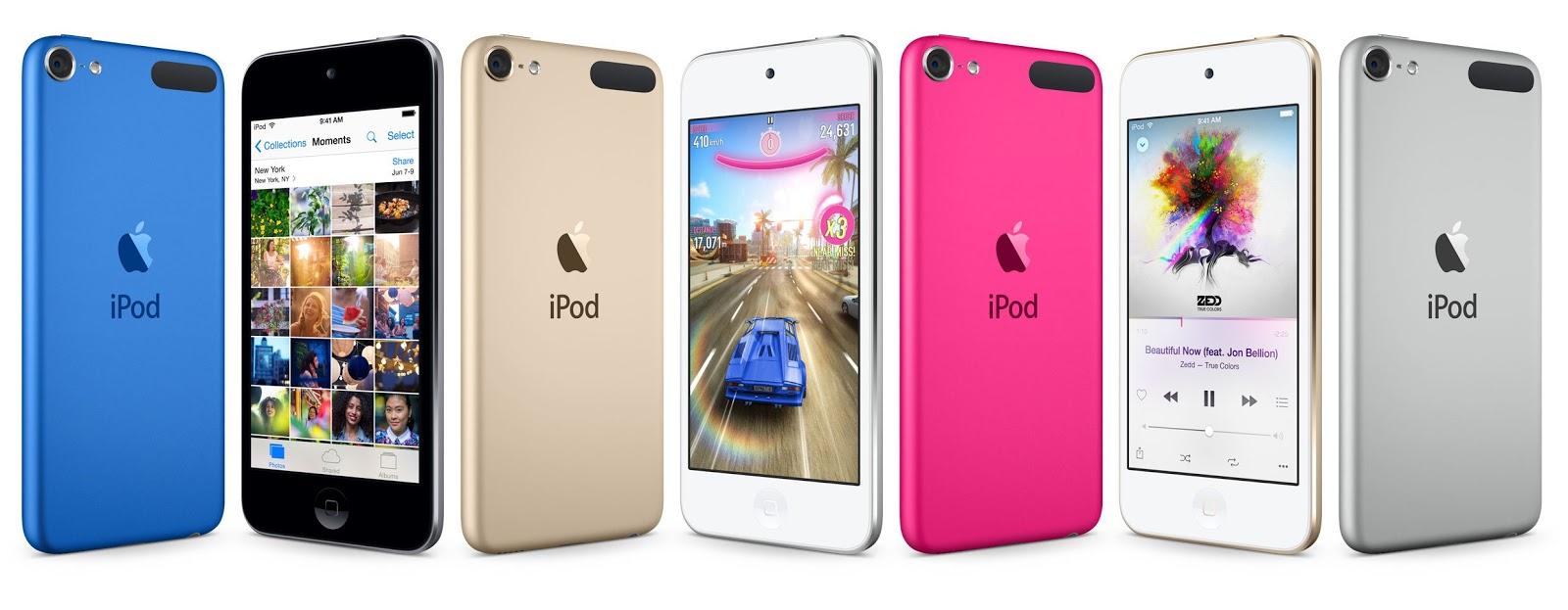 Novo iPod touch 2015