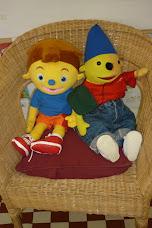 Onze klaspop Pompom en zijn vriendje Pampam
