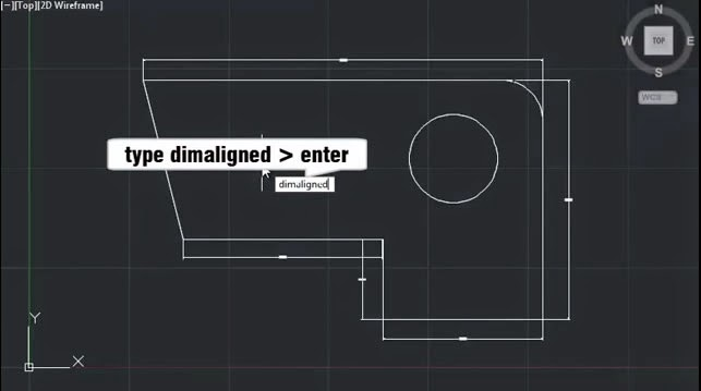 AutoCAD Dimaligned Command