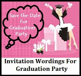Sample invitation wordings graduation announcement party graduation announcement party invitation wordings sample graduation announcements party invites wordings invitation wordings for graduation party stopboris Images