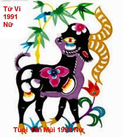 Tu Vi tuoi Tan Mui 1991