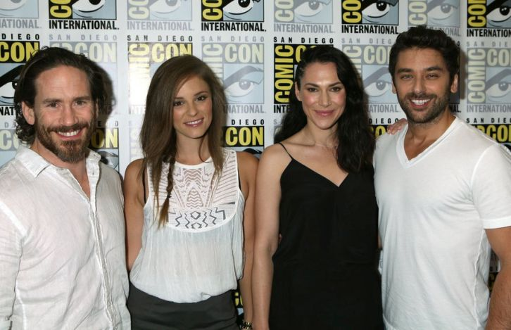 Helix - Comic-Con 2014 Panel and Cast Photos