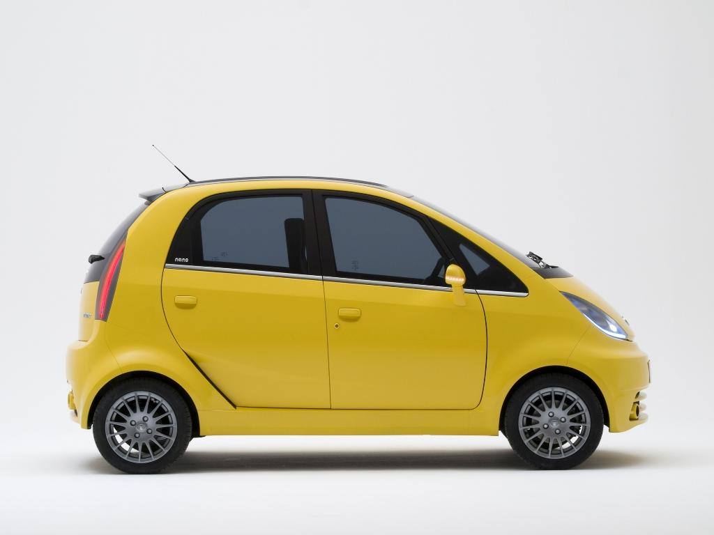 The above picture is of TATA NANO. The modified version of above car ...