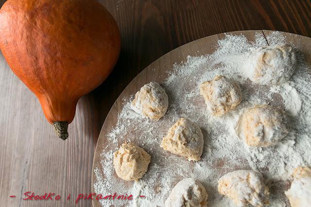 Dyniowe gnocchi z przyprawą garam masala