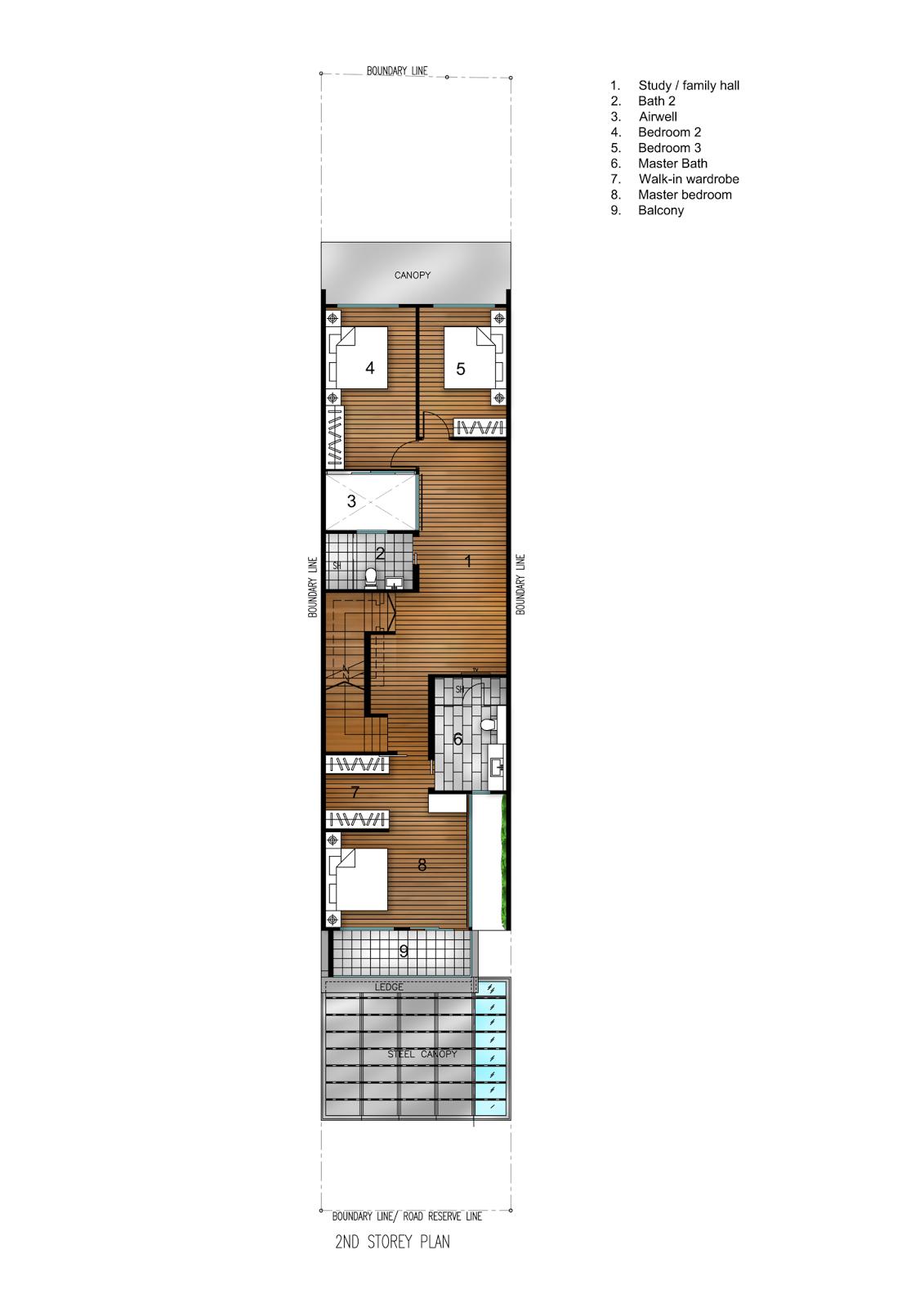 Rumah Minimalis di Lahan 6x21 Meter 9