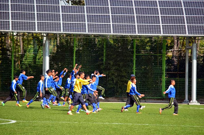 Myanmar National Football Team in Korea