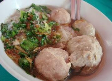 ciri-ciri bakso daging babi