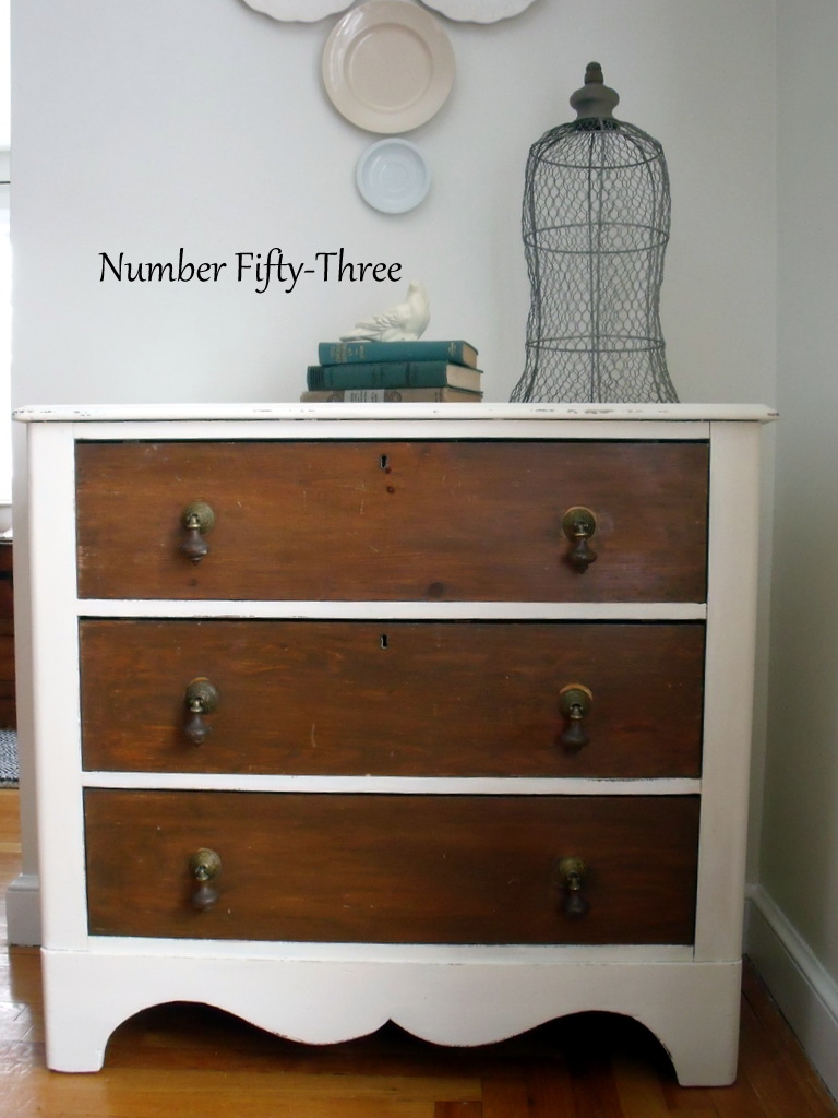 $25 Refinished Antique Dresser - Number Fifty-Three: $25 Refinished Antique Dresser