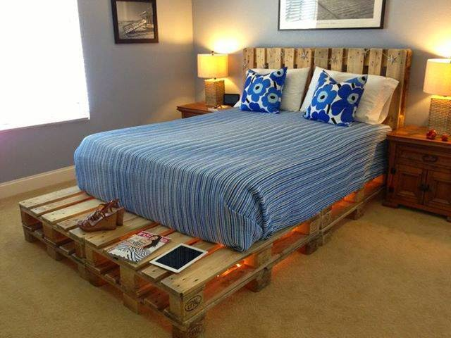10 muebles hechos con palets decoguia tu gu a de for Muebles de sala hechos con tarimas