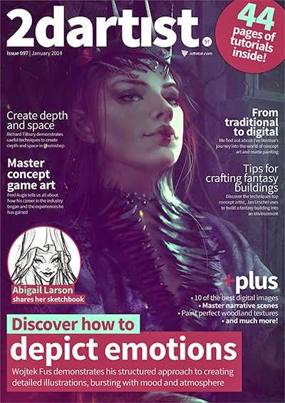 2D Artist Magazine Issue 97 January 2014