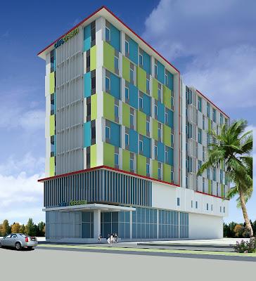 Rendering Hotel Citradream Kota Cirebon