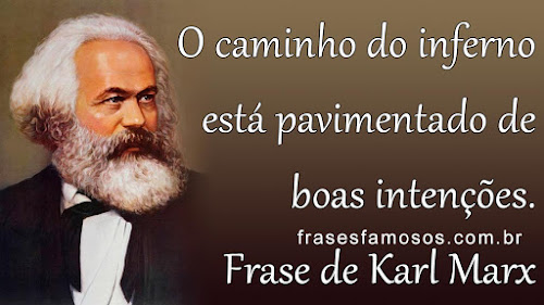 Frase de Karl Marx para Refletir
