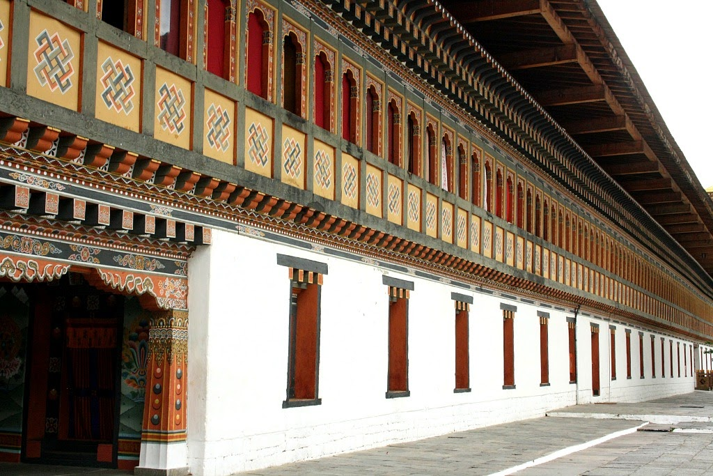 Architecture of Bhutan, Tanvii.com