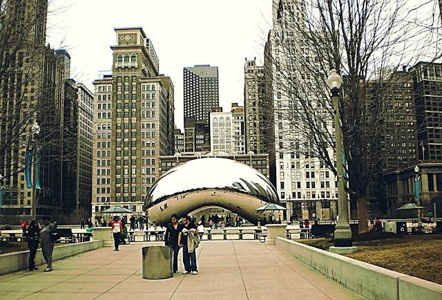 millennium park chicago cloud gate
