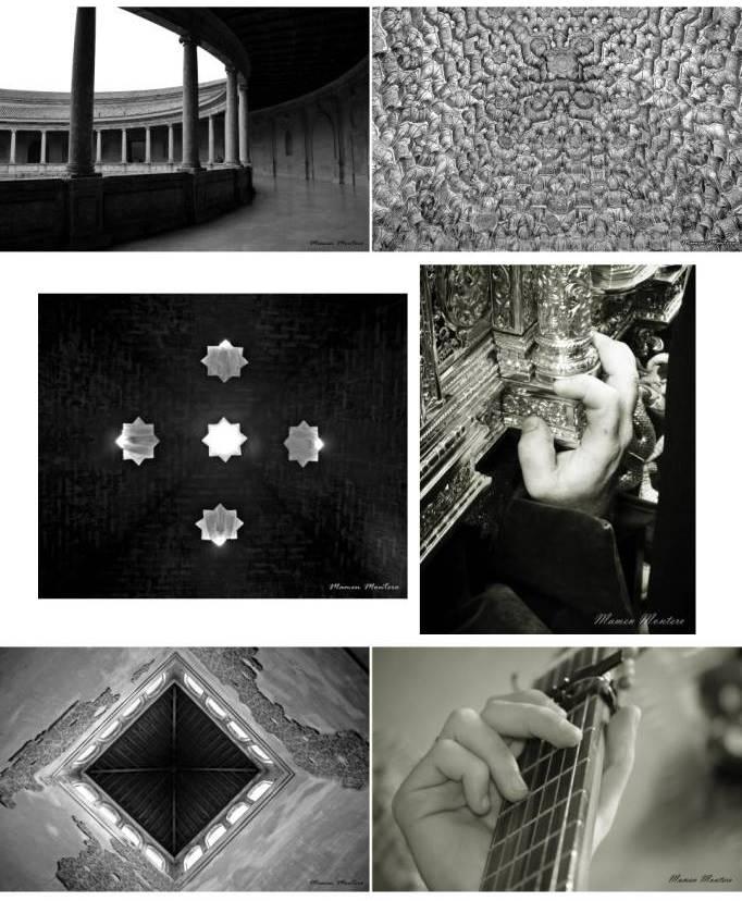 Reto blanco y negro fotografía