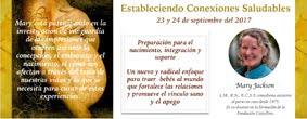 """""""Estableciendo Conexiones Saludables"""", curso con la comadrona Mary Jackson"""