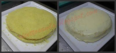 prepariamo la farcitura con la crema pasticcera