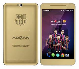Spesifikasi dan Harga Android Advan Barca Tab 7 T1X+