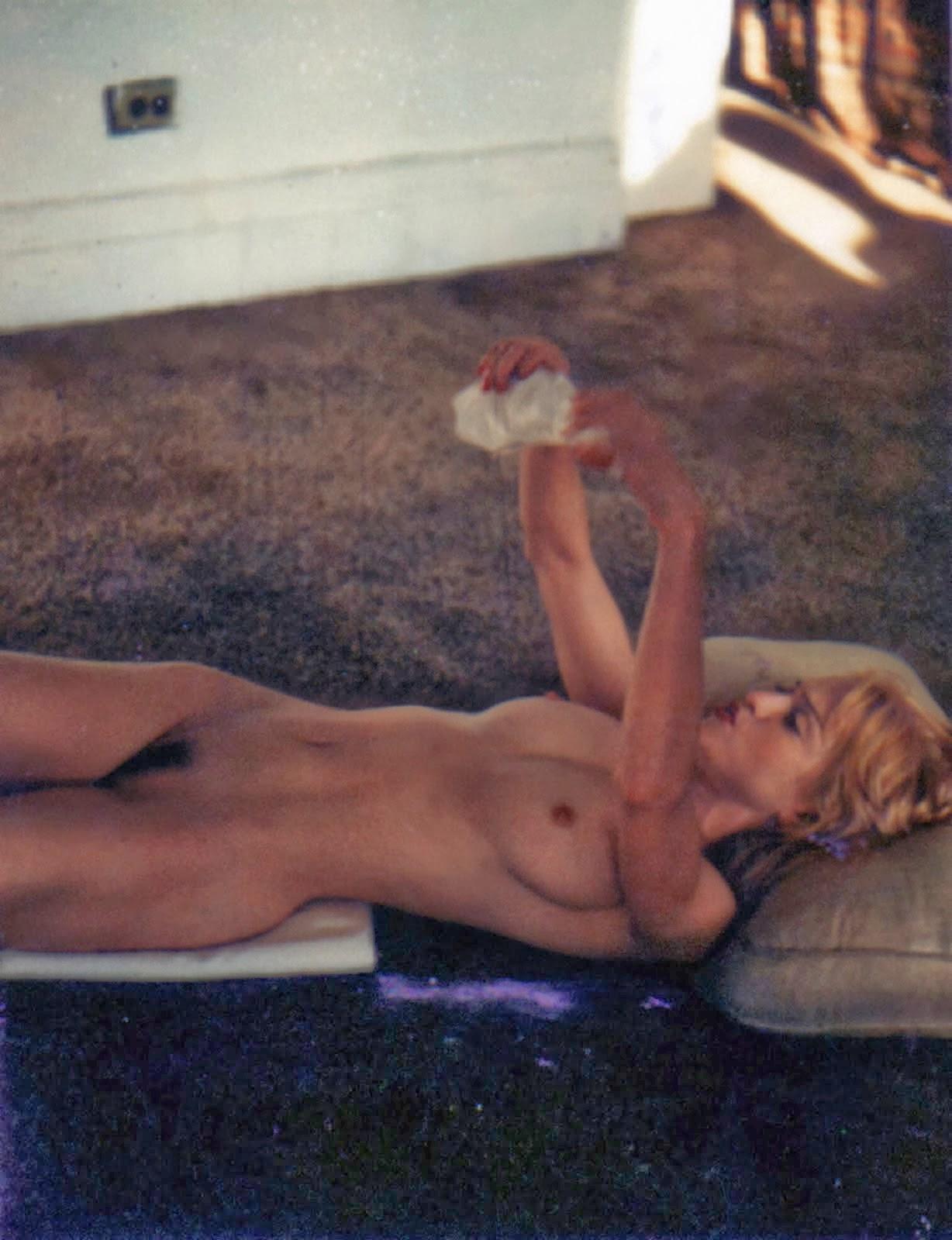 Nude beach madonna