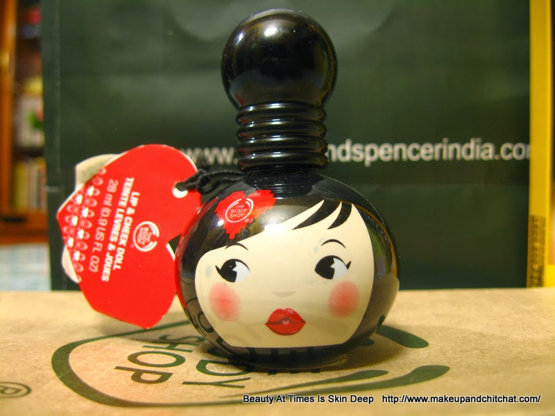 The Body Shop Geisha Doll Lip and cheek Tint India