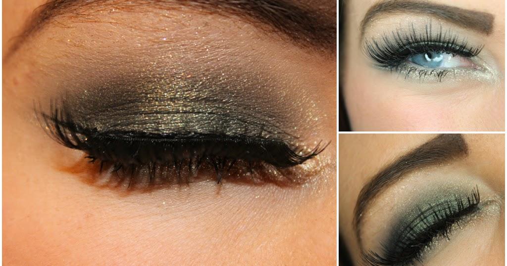 Fall Makeup Look - Green & Gold - KarlaLovesLipstick