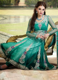 Anarkali Churidar Suit
