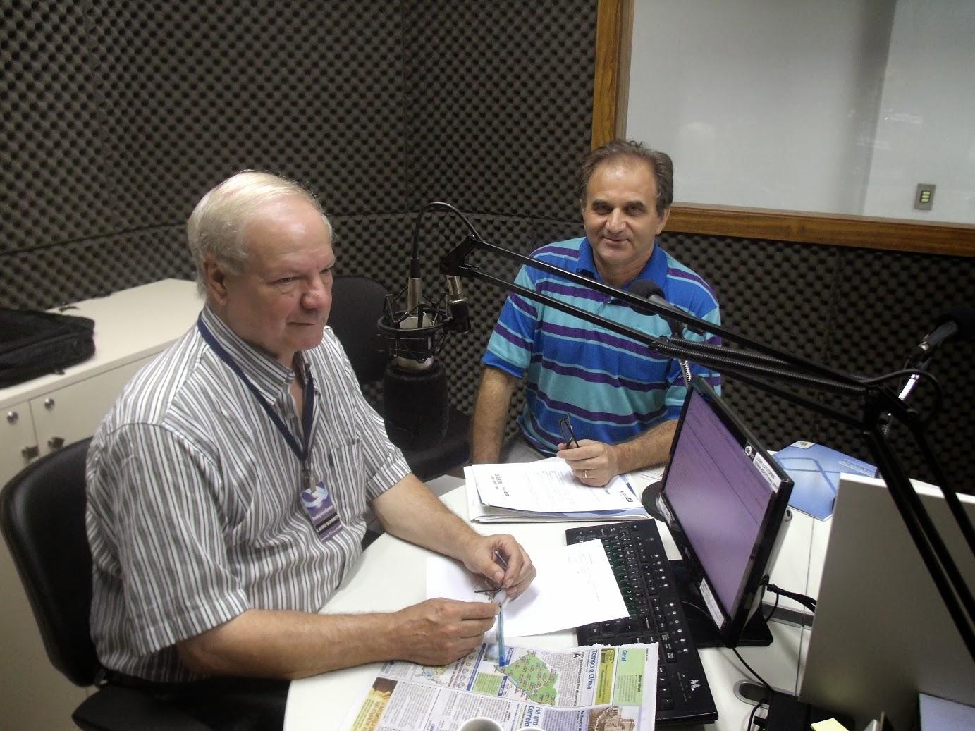 Airton Engster dos Santos e Lauro Evaldo Schmidt