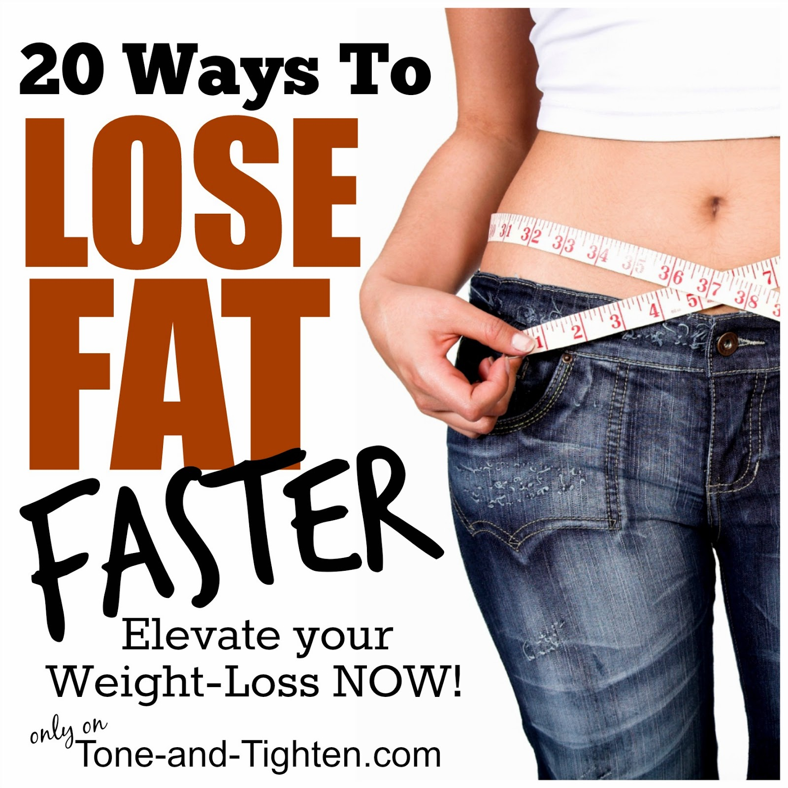 how to lose weight from your belly only