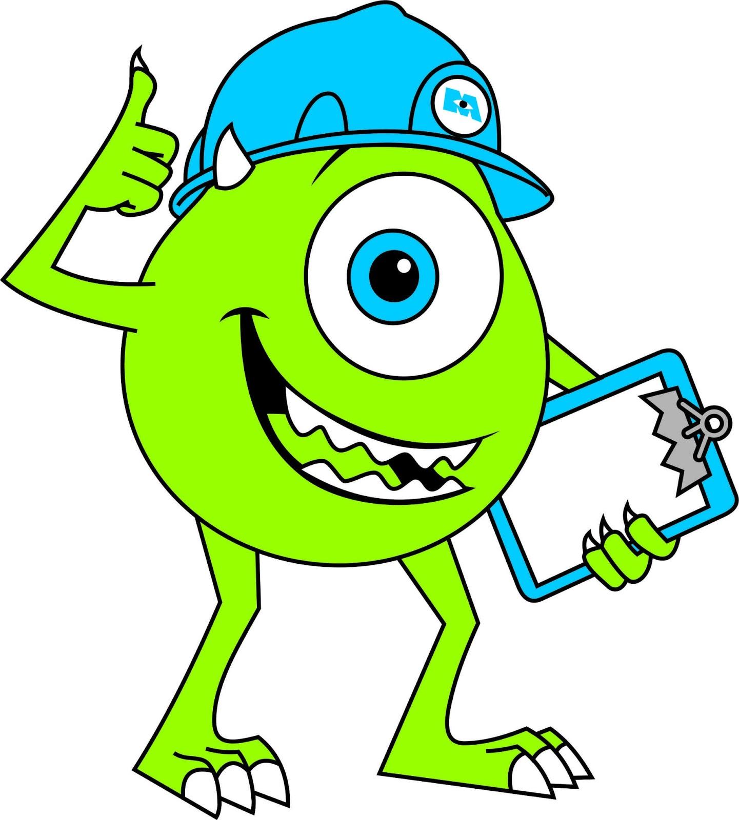 Aldlogos May Guasoski De Monster Inc Inc Dibujos A Color