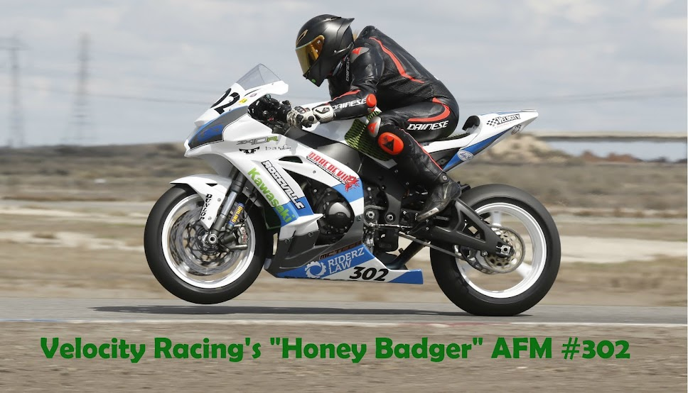 Velocity Racing's 'Honey Badger' Blog