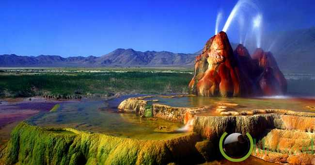 Fly Geyser (Nevada, US)