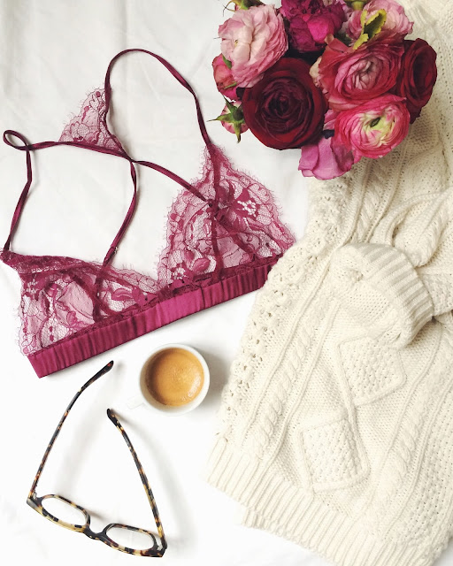 fleur of england, esspresso, bailey nelson glasses, cozy knit, chunky knit, flatlay
